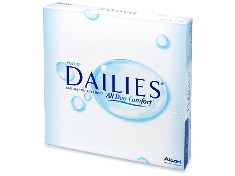 Focus Dailies All Day Comfort (90 Linsen) - Tageslinsen