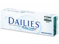 Torische (Astigmatische) Kontaktlinsen - Focus Dailies Toric (30Linsen)
