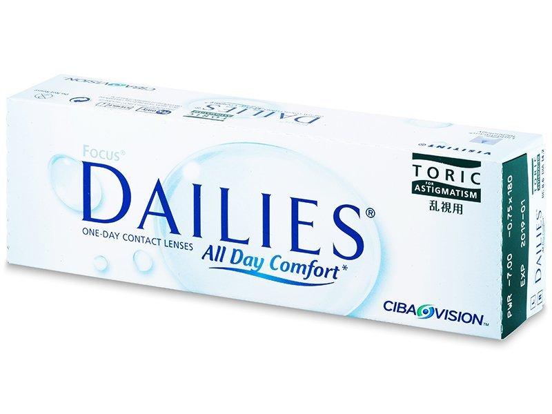 Focus Dailies Toric (30Linsen) - Torische Kontaktlinsen