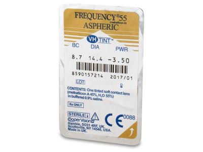Frequency 55 Aspheric (6Linsen) - Blister Vorschau