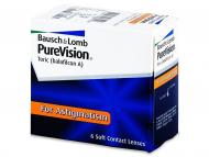 Torische (Astigmatische) Linsen - PureVision Toric (6Linsen)
