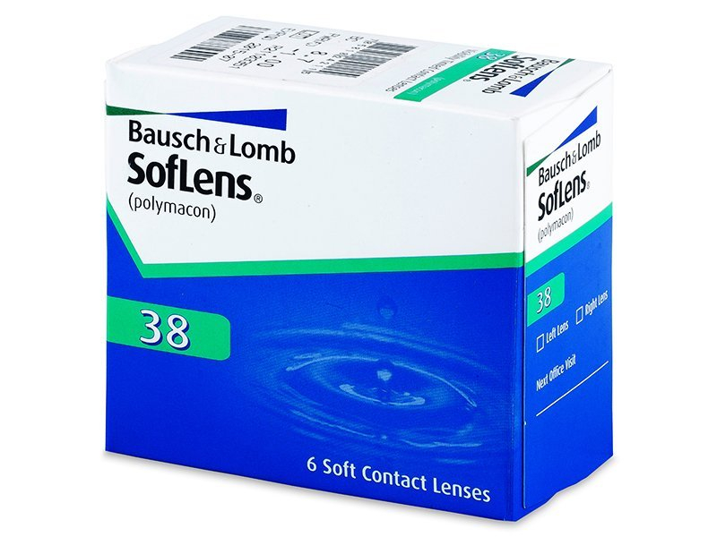 SofLens 38 (6Linsen) - Monatslinsen