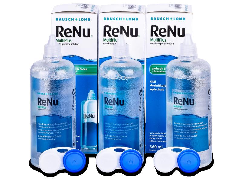 ReNu MultiPlus 3x360ml  - Pflegelösung – 3er Pack