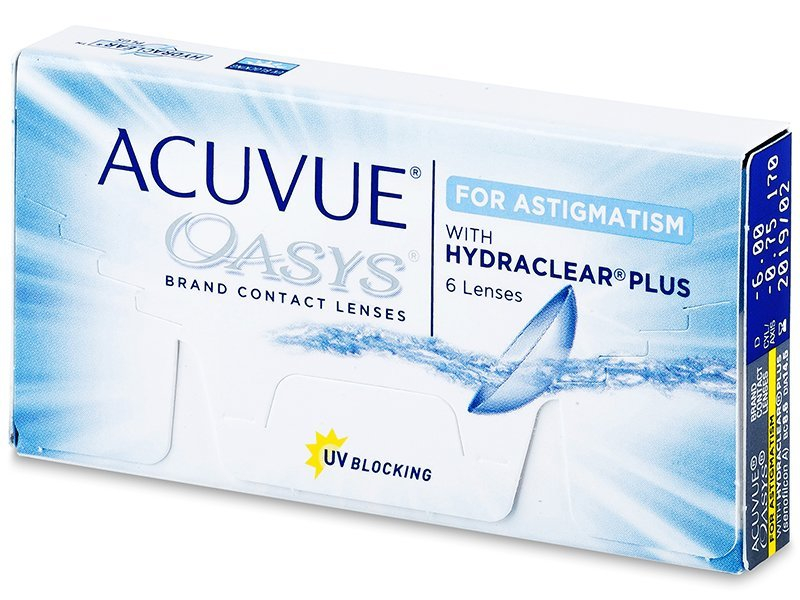 Acuvue Oasys for Astigmatism (6Linsen) - Torische Kontaktlinsen