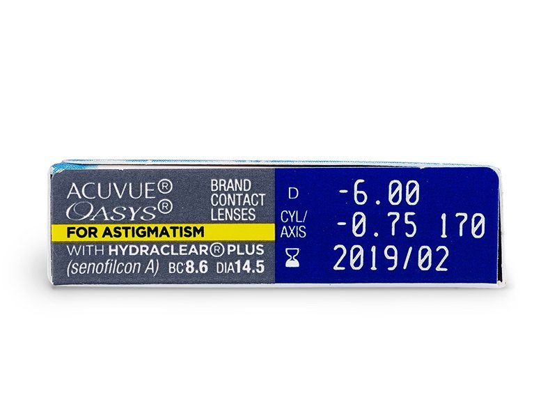 Vorschau - Acuvue Oasys for Astigmatism (6Linsen)