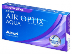 Air Optix Aqua Multifocal (3 Linsen) - Multifokale Kontaktlinsen