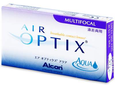 Air Optix Aqua Multifocal (3 Linsen) - Älteres Design