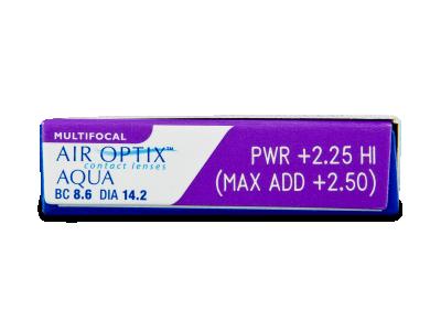 Air Optix Aqua Multifocal (3Linsen) - Vorschau