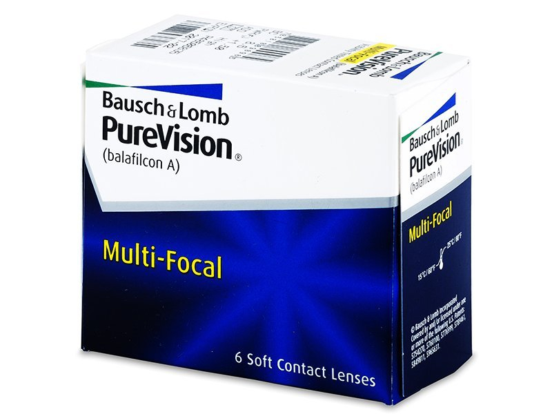 PureVision Multi-Focal (6Linsen) - Multifokale Kontaktlinsen