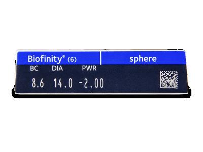 Biofinity (6Linsen) - Vorschau