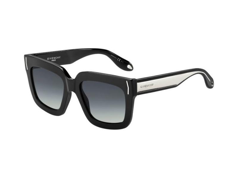 GIVENCHY Givenchy Damen Sonnenbrille » GV 7015/S«, schwarz, UDU/HD - schwarz/grau