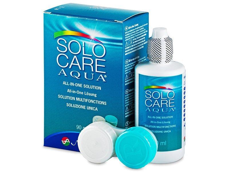 Reinigungslösung - SoloCare Aqua 90ml