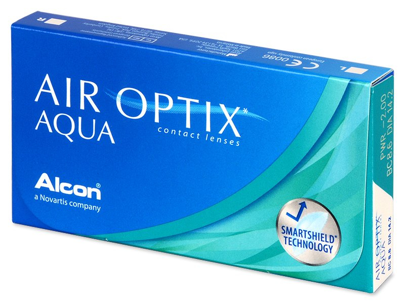 Monatslinsen - Air Optix Aqua (6 Linsen)