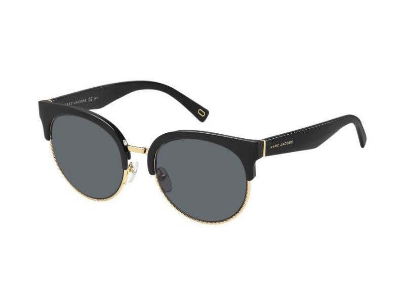 MARC JACOBS Marc Jacobs Damen Sonnenbrille » MARC 170/S«, schwarz, 807/IR - schwarz/grau