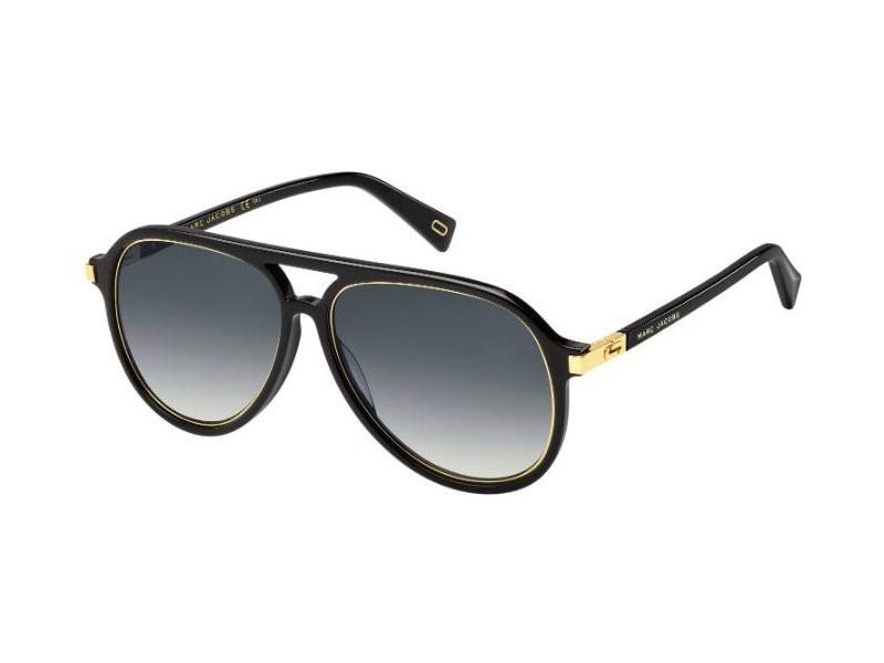 MARC JACOBS Marc Jacobs Herren Sonnenbrille » MARC 174/S«, schwarz, 2M2/9O - schwarz/grau