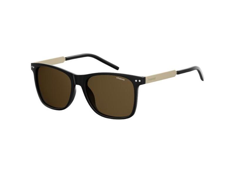 Polaroid Herren Sonnenbrille » PLD 1028/S«, schwarz, SAO/SP - schwarz/braun