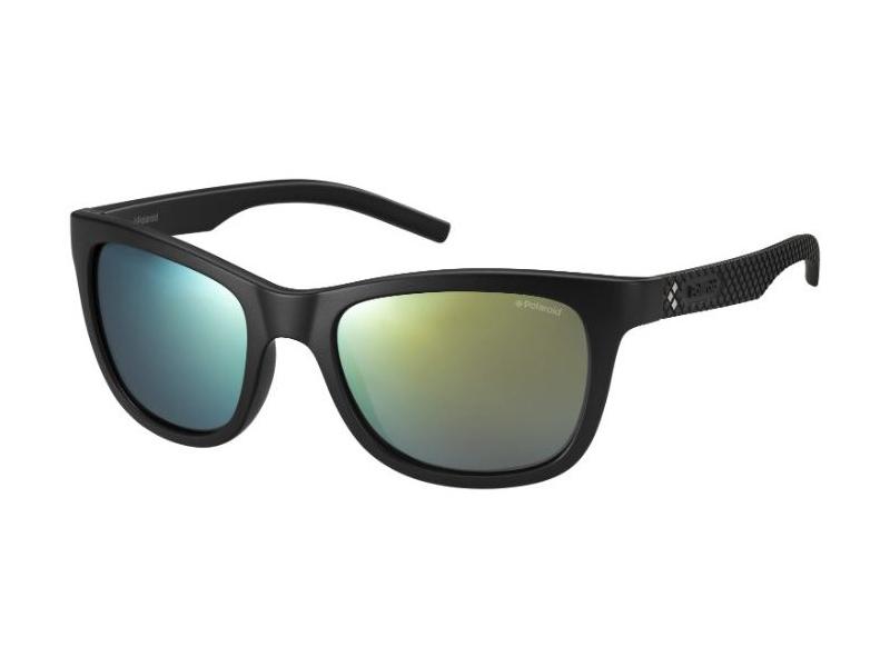 Polaroid Herren Sonnenbrille » PLD 7008/N«, schwarz, DL5/LM - schwarz/grün