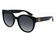 Sonnenbrillen Rund - Gucci GG0035S-001