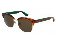 Sonnenbrillen Clubmaster / Browline - Gucci GG0056S-003