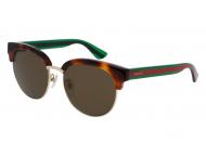 Sonnenbrillen Clubmaster / Browline - Gucci GG0058SK-003