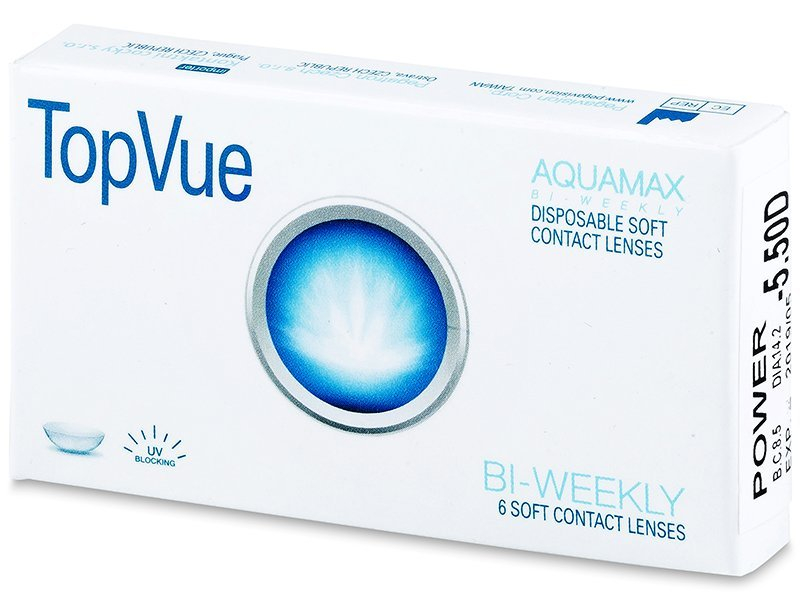 TopVue Bi-weekly (6Linsen) - 2-Wochen-Kontaktlinsen