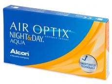 Air Optix Night and Day Aqua (3Linsen) - Monatslinsen