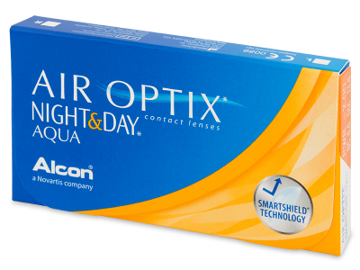 Air Optix Night and Day Aqua (6 Linsen) - Monatslinsen