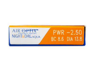 Air Optix Night and Day Aqua (3Linsen) - Vorschau