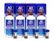 Pflegemittel - AO SEPT PLUS HydraGlyde 4 x 360ml