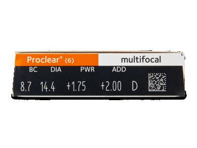 Proclear Multifocal (6Linsen) - Vorschau